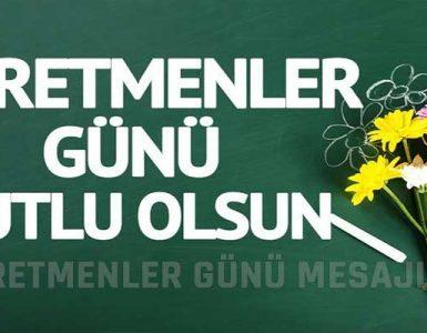 24 Kasım Öğretmenler Günü Sözleri ve Mesajları
