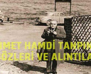 Ahmet Hamdi Tanpınar Sözleri ve Alıntıları