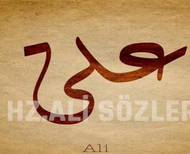Hz. Ali Sözleri Adalet Sabır Haksızlık