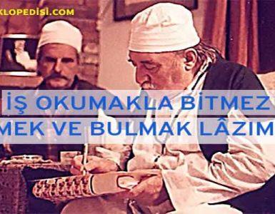 Muzaffer Ozak Sözleri
