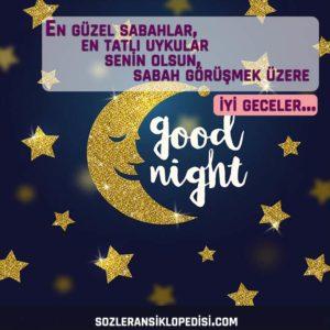 sevgiliye en tatlı iyi geceler mesajları