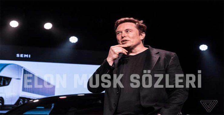 Elon Musk Sözleri