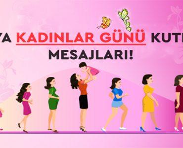Dünya Kadınlar Günü ile İlgili Kutlama Mesajları