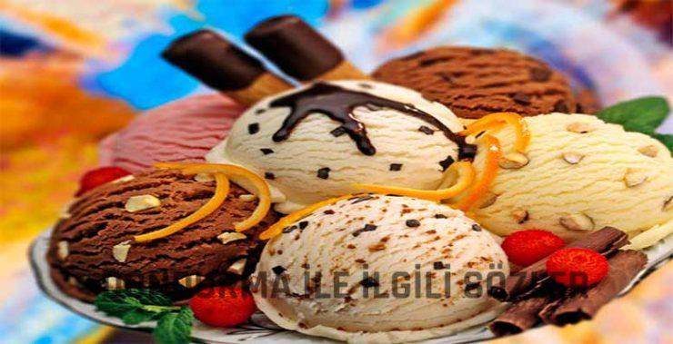 Dondurma ile İlgili Sözler