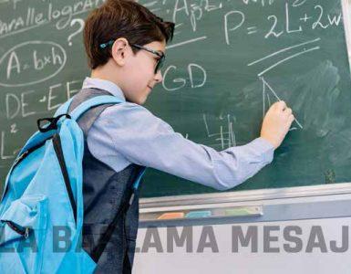 Okula Başlama Mesajları ve Sözleri